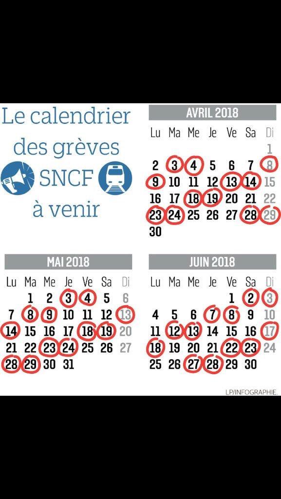 Calendrier Des Grèves Sncf 2020.Greves Sncf Juin 2020 Calendrier