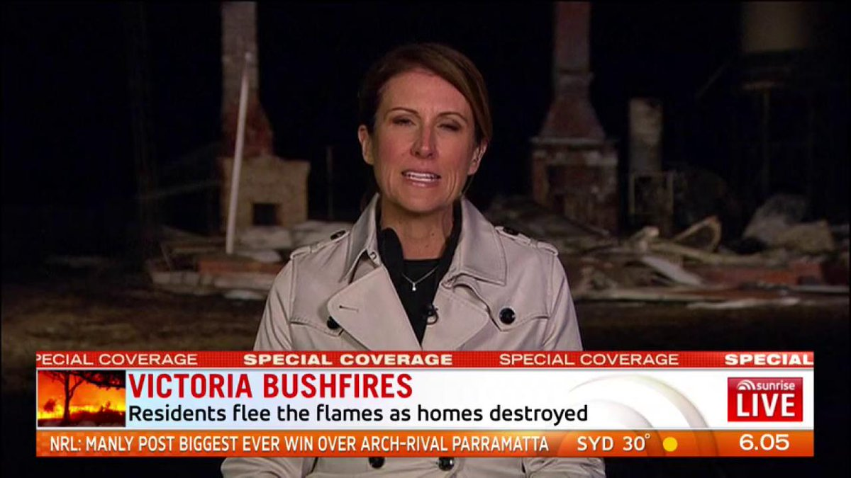 Hundreds of people have spent a second night away from their homes after fire tore through Cobden and Terang. @nathantemp7 #7News