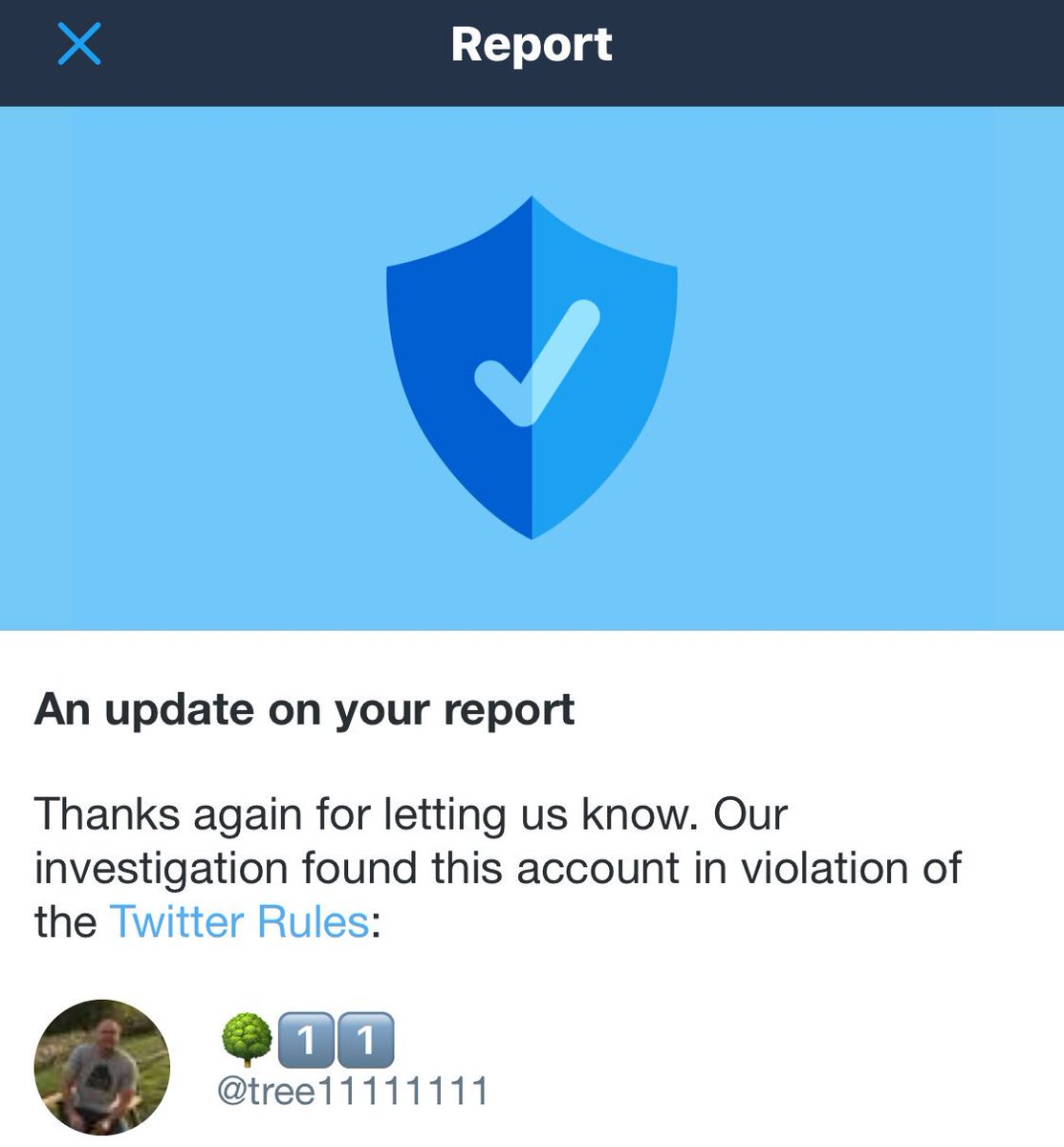 Keep reporting these #MAGA morons, Russian trolls & bots. We are winning!