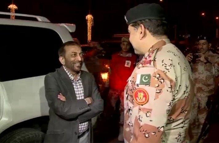 Sir, Luke Ronchi ki complain karni thi h...