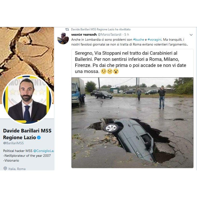E intanto @BarillariM5S, con i soldi dei contribuenti, continua a diffondere #FakeNews come se nevicasse. #M5Sbuffoni #senzadime  - Ukustom