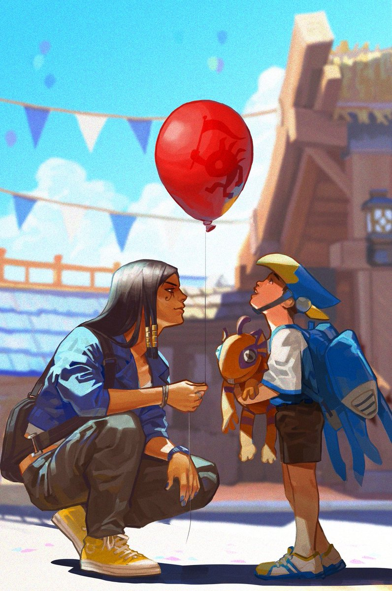 Blizzard World by 張世楷 張  #pharah #fareeh...