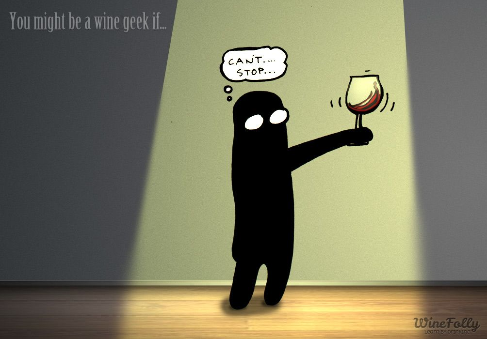 Why do people swirl #wine? Answer here:...
