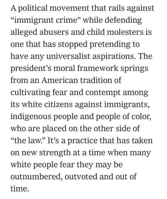 """Exploring the meaning of Trumpist """"law and order"""" from @chrislhayes https://t.co/4HlNTiljap"""