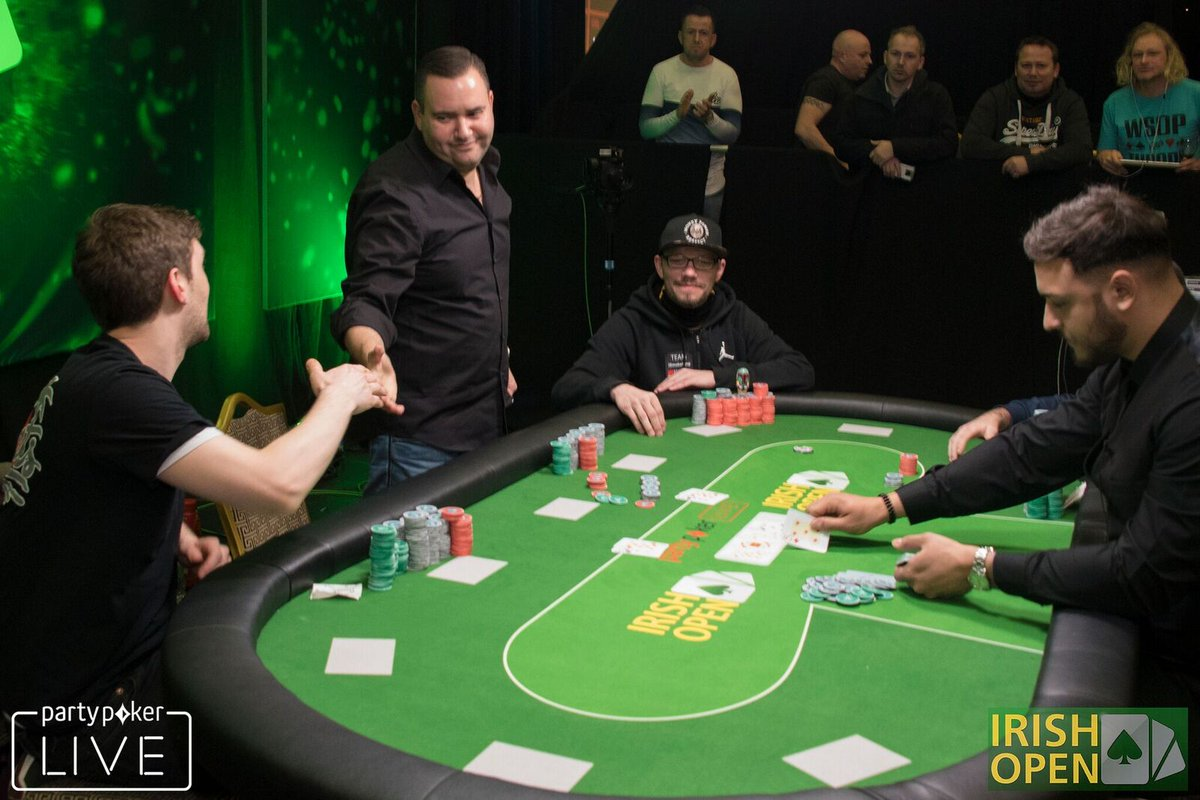 Irish poker tournaments craps definition