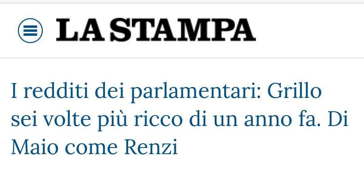 #FakeNews @beppe_grillo non è un parlamentare.@matteorenzi non era un parlamentare, ma è stato appena eletto Senatore.  - Ukustom
