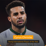 .@cyruschristie is the Young International Player of the Year! #FAIAwards