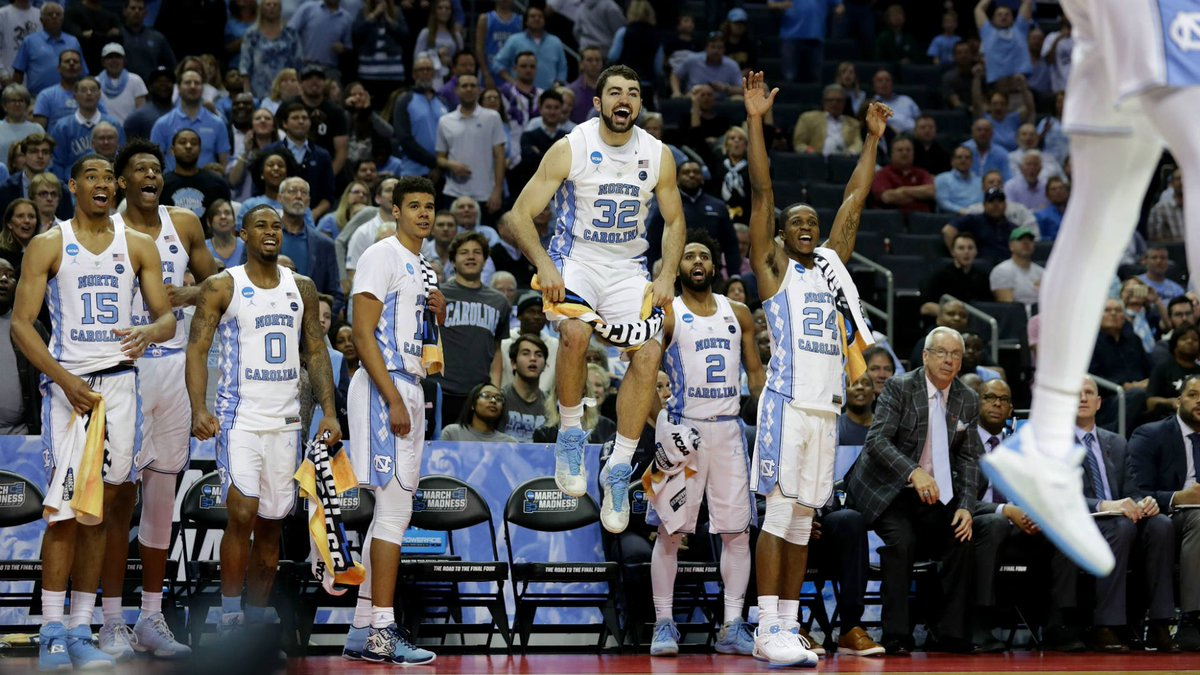 Walk-ons have March Madness dreams, too. Right up at the top of the list? Dunking in an NCAA Tournament game.   UNC's Shea Rush — son of former UCLA star JaRon — realized that dream in the Tar Heels' opener. https://t.co/8aUOHNTPHd