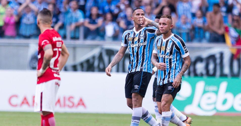 Clássico gaúcho | Jael marca golaço, e Grêmio faz 3 a 0 no Internacional https://t.co/PPHy8Bt5lk