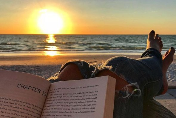 Crack open a book and hit the beach. The...