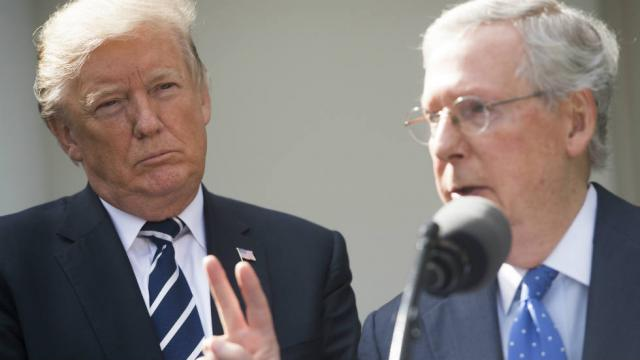 NEW: Trump pushes GOP to change Senate rules to speed up confirmations https://t.co/a684aQ1CX4