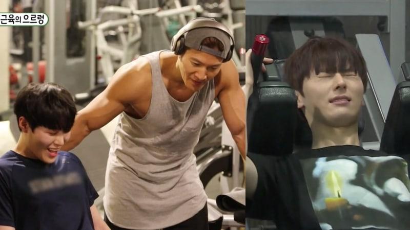 #WannaOne's Ha Sung Woon And Hwang Min H...