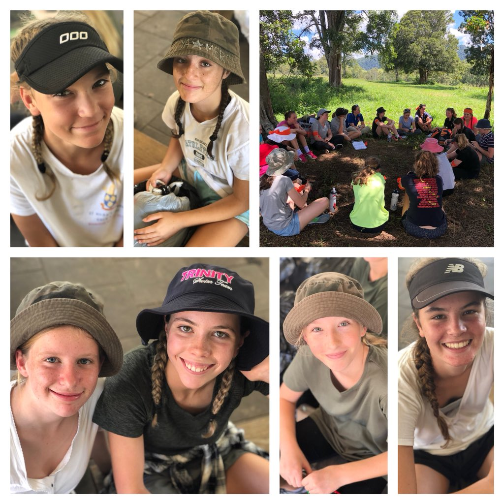 The faces of students about to start their camping adventures! Go Year 9 @StHildasQld! 🌏🌿🌞