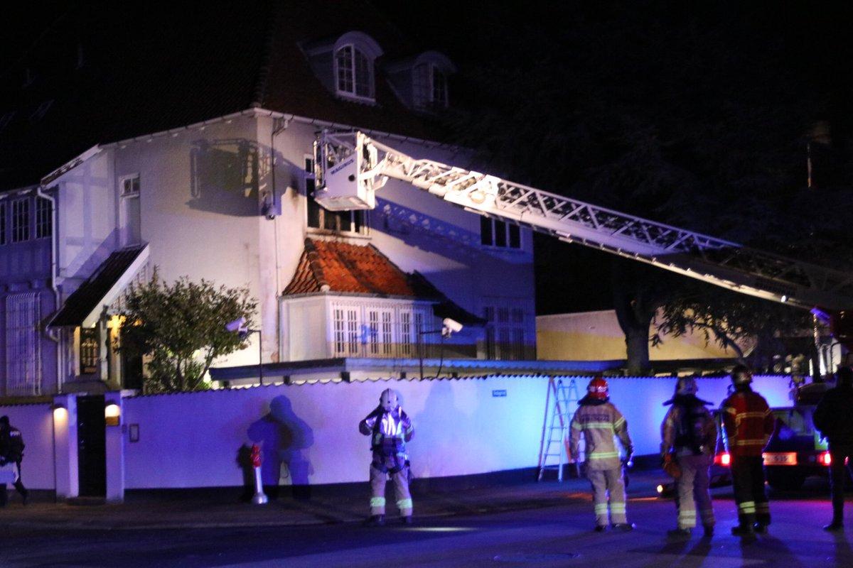 Неизвестные напали на посольство Турции в Дании