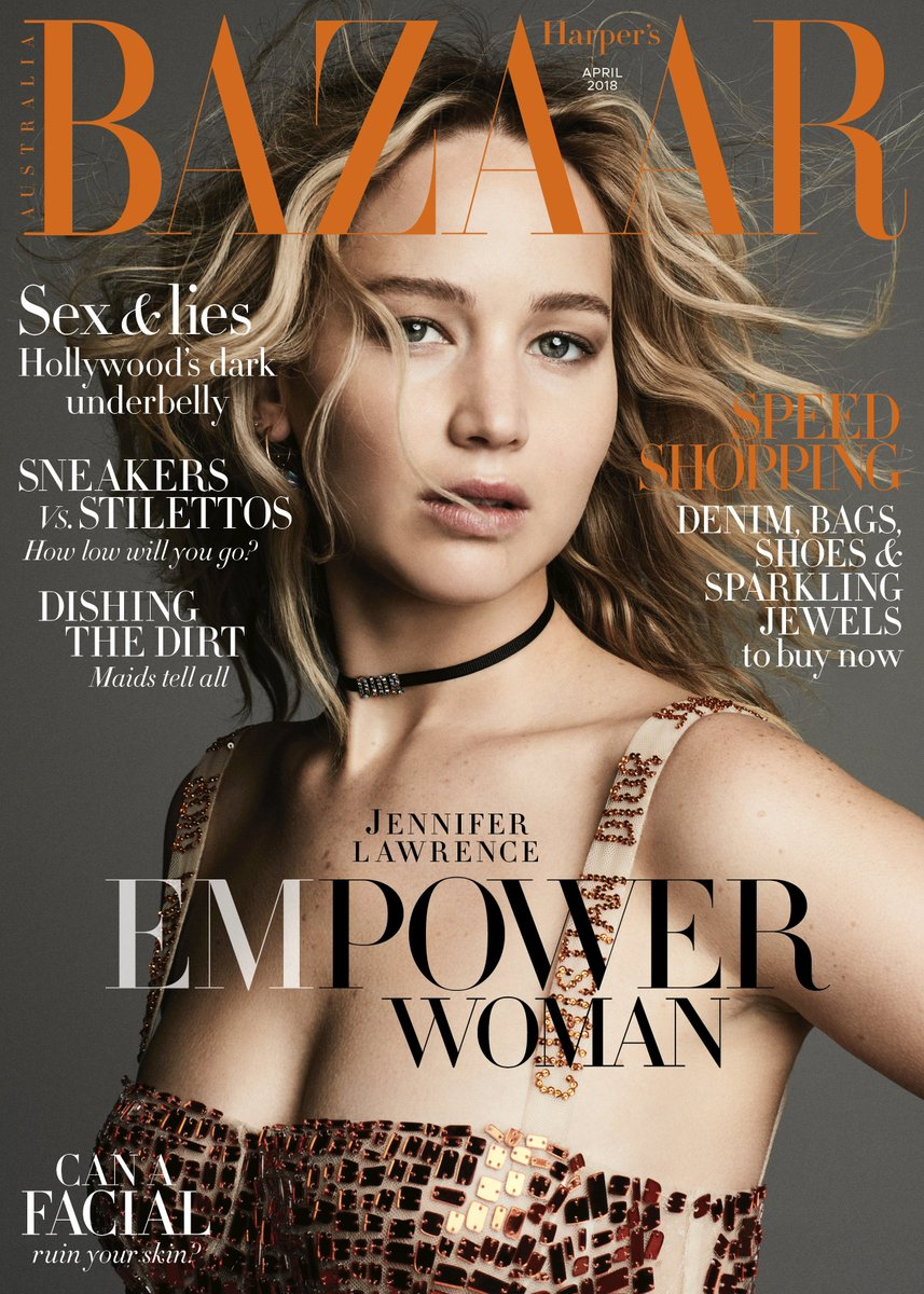 "Harper's BAZAAR on Twitter: ""Hollywood superstar Jennifer ..."