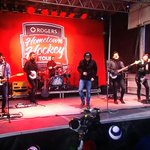 The boys were awesome for Hometown Hockey in Cornwall, Ontario tonight.  @coldcreekcounty