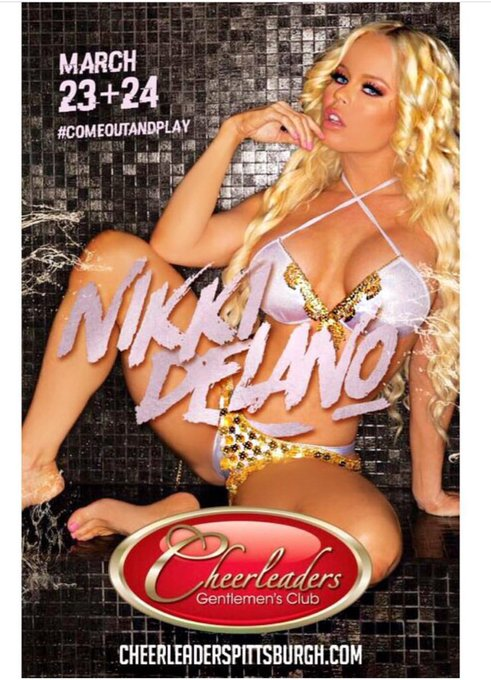 Meet me live Next weekend In Pittsburgh I will be featuring at @cheerleaderspgh March 23 & 24th https://t