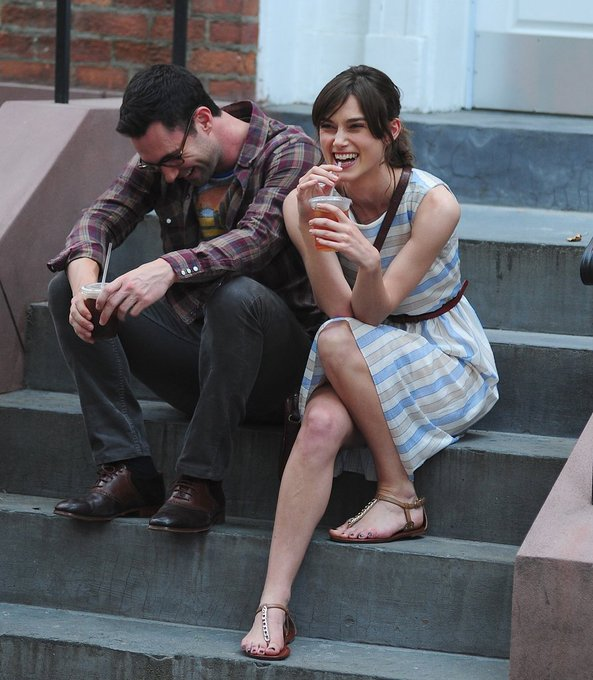 Happy 39th birthday to Keira s co-star in Begin Again, Adam Levine!