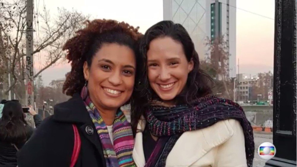 'Não consigo acreditar que ela não vai voltar para casa', diz viúva de Marielle Franco https://t.co/zXRrYvVwy2