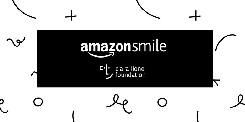 Go to the smile.amazon.com/ch/45-5620521 to pick Clara Lionel Foundation as your @amazonsmile charity of choice & from now until March 31 @amazon will TRIPLE the donation rate for your first smile.amazon.com purchase in support of our work around the 🌎!