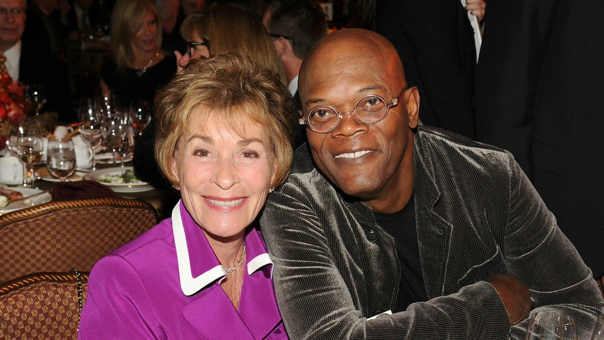 Samuel L. Jackson and Judge Judy have a...