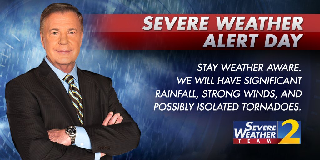 STAY with Severe Weather Team 2 on air and online at https://t.co/K29DA0S7uY for the latest updates #StormWatchOn2 https://t.co/io1c20EbP9