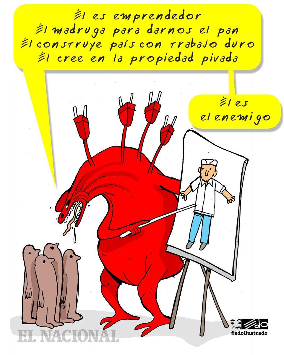 Caricatura EDO: El enemigo