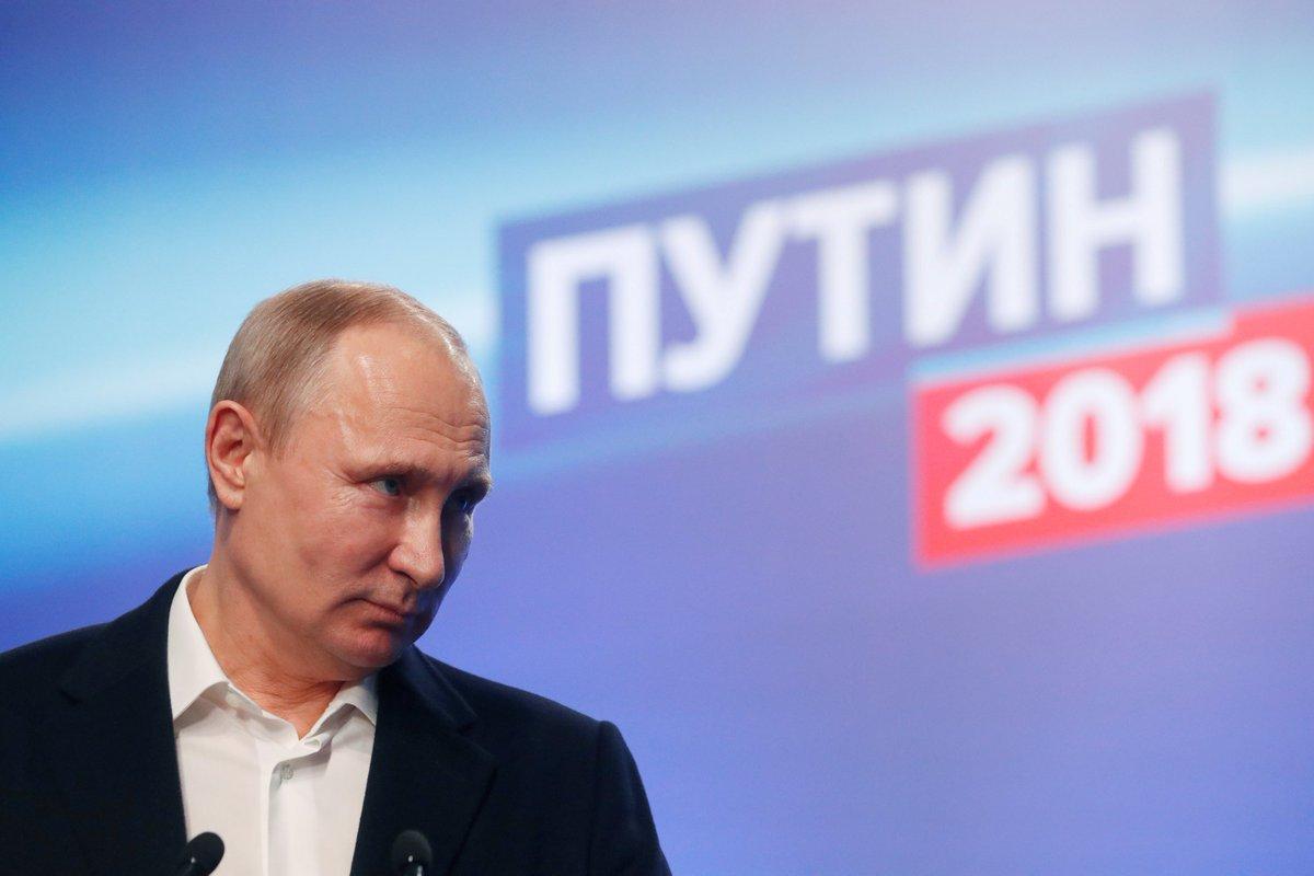 Путин получил поддержку наибольшего числа избирателей за всю историю России https://t.co/vchSG2eMw8