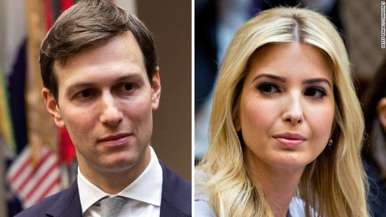 A helicopter carrying Ivanka Trump and Jared Kushner had to return to an airport in Washington on Thursday after one of its engines failed, two law enforcement sources told CNN https://t.co/pVz49IiJti