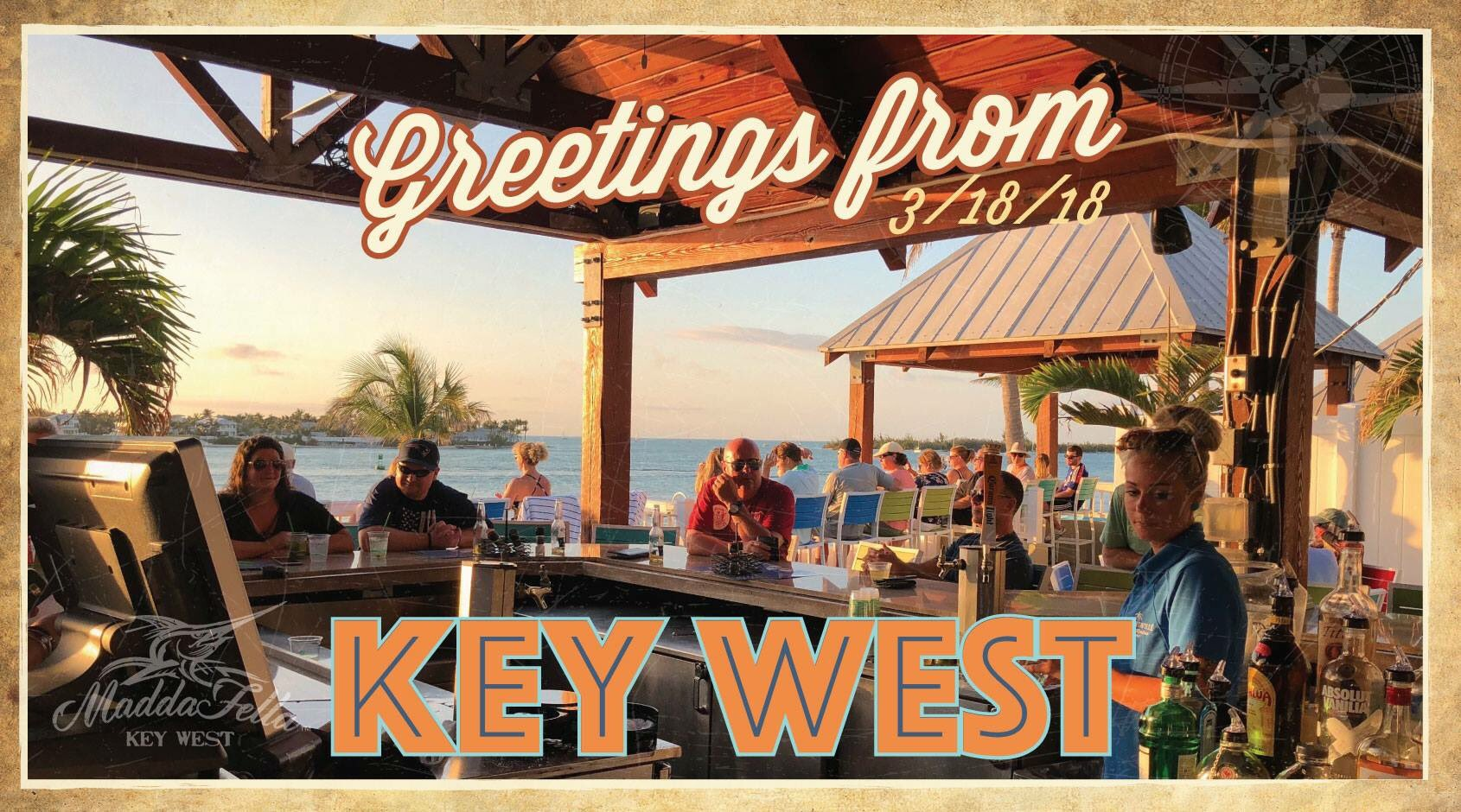 Great place to wrap up the weekend! #maddafella #keywest https://t.co/sfrRWauS9r https://t.co/GFPdE838cY