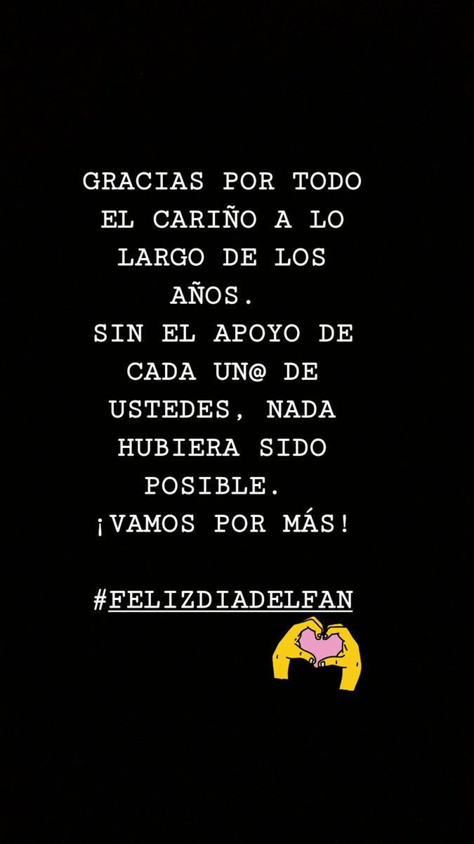 Elias On Twitter Felizdiadelfan Diadelfan Gracias Por Todo El