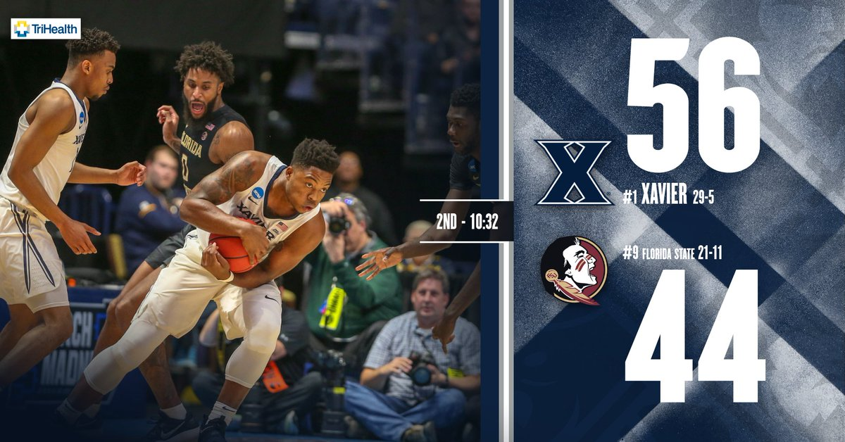 Xavier controlling the lane, 26pts in th...