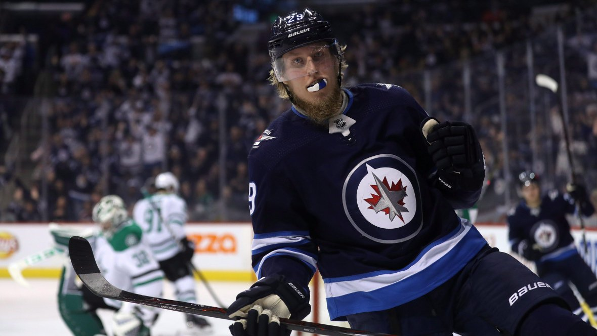 Laine moves into tie for scoring lead as Jets topple Stars https://t.co/D0I3GyRvl2