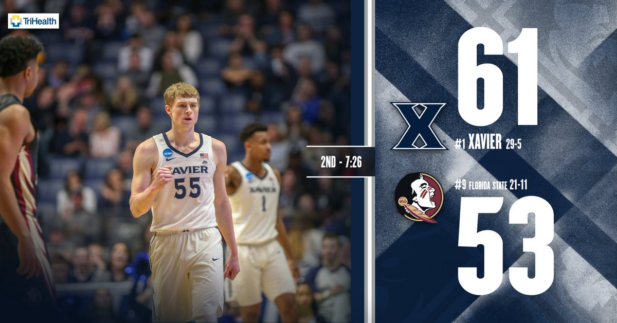 With JP and Q in foul trouble, Xavier's...