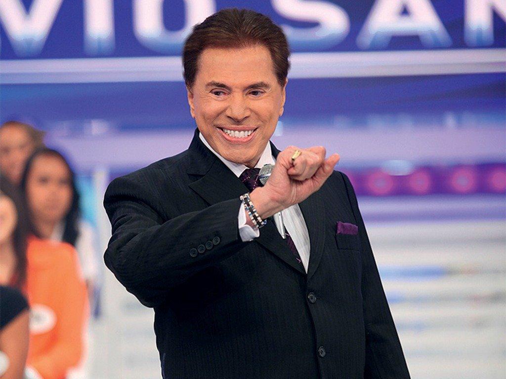 Audiências da TV: Programa Silvio Santos...
