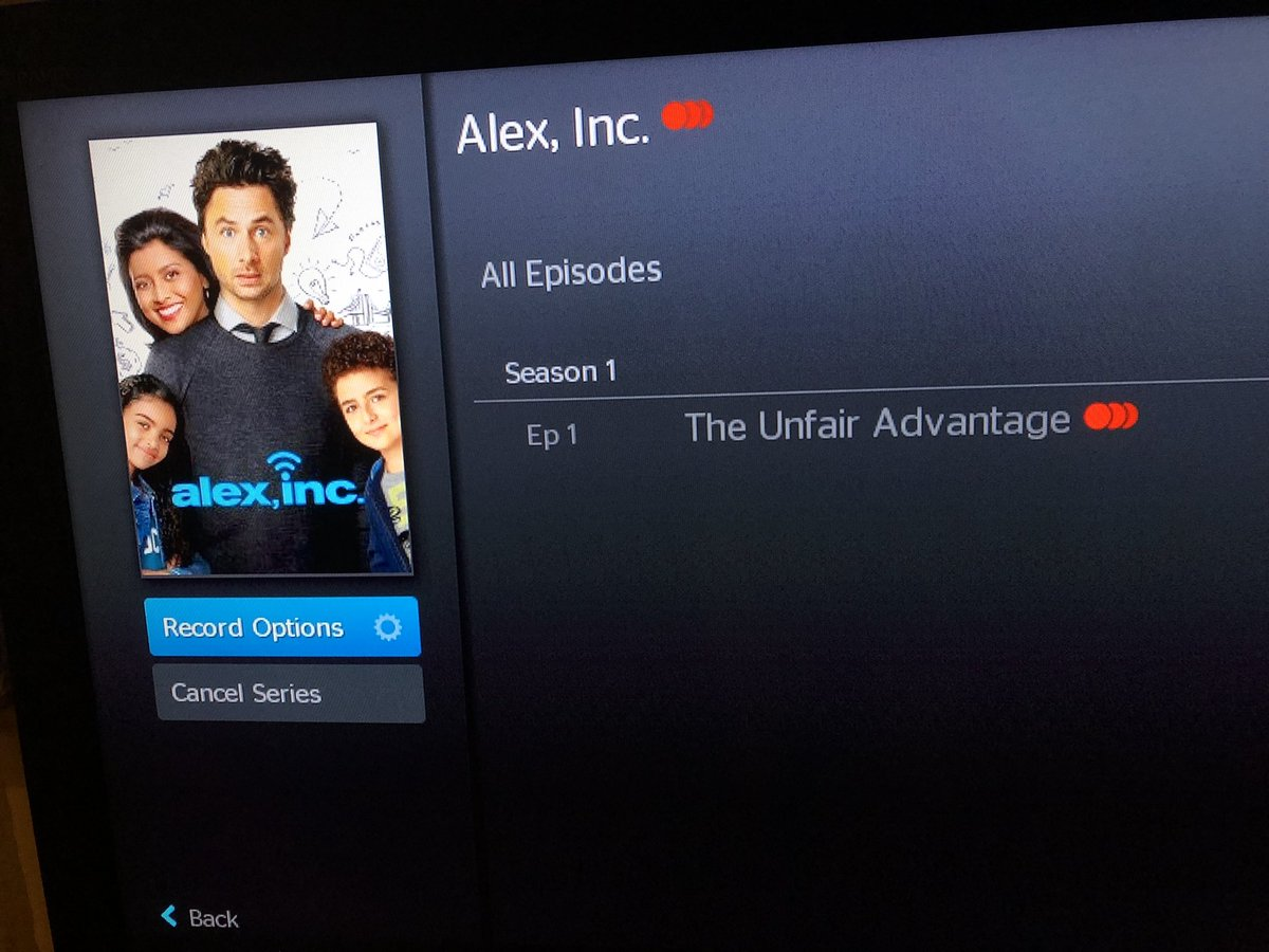 Friends! You can set your DVR's now: