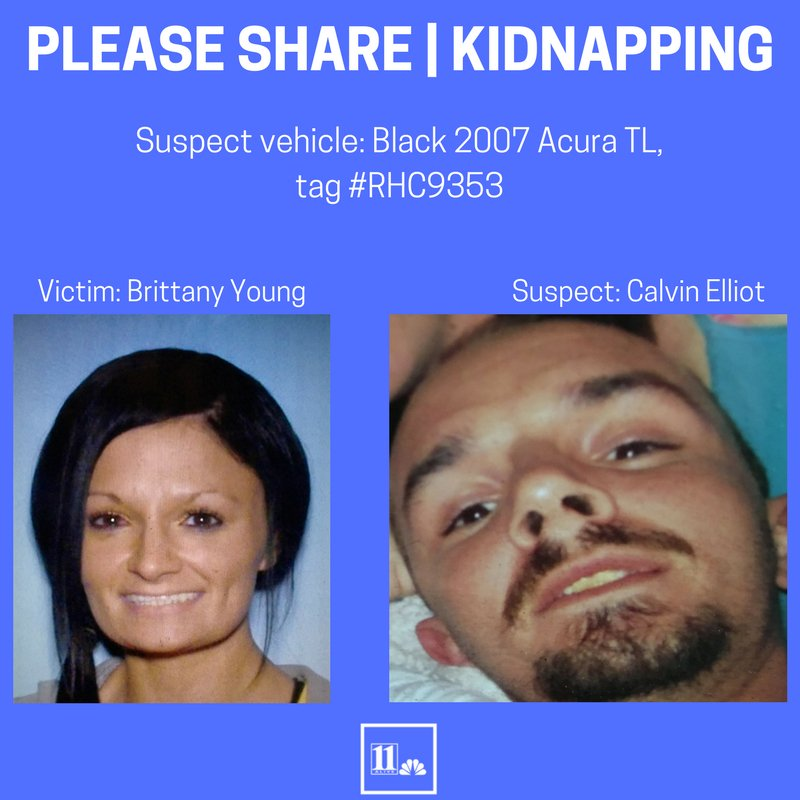 PLEASE SHARE | Woman allegedly kidnapped by her ex-boyfriend out of #Canton, Ga. Here is the description of the suspect's car: https://t.co/gG6Clk2XXv #MorningRushATL