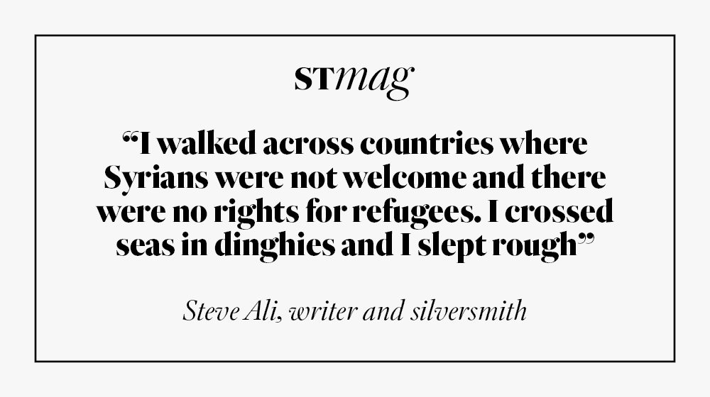 As thousands flee Eastern Ghouta, @Steveali_ tells the heart-wrenching tale of his idyllic childhood there - and how he escaped to Britain https://t.co/5Pa4NMsfSW