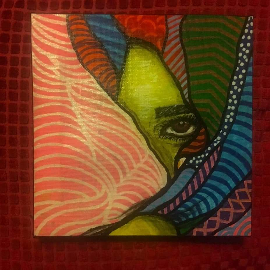 Fearless  Molotow markers on canvas  #me...