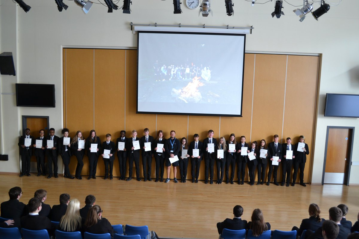RT @SmeatonAcademy: Congratulations to our Year 11 Pupils who completed The Duke Of Edinburgh's Award last year. Certificates were awarded in assembly today! @DofE #DofE