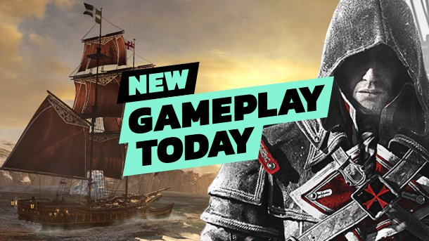 Assassin's Creed Rogue has been remastered and is coming out tomorrow on PS4, Xbox One, and Steam. Watch us play the opening right here! https://t.co/xrMWQDSZ10