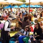 Image for the Tweet beginning: Cheers to the @Melbfoodandwine Festival.
