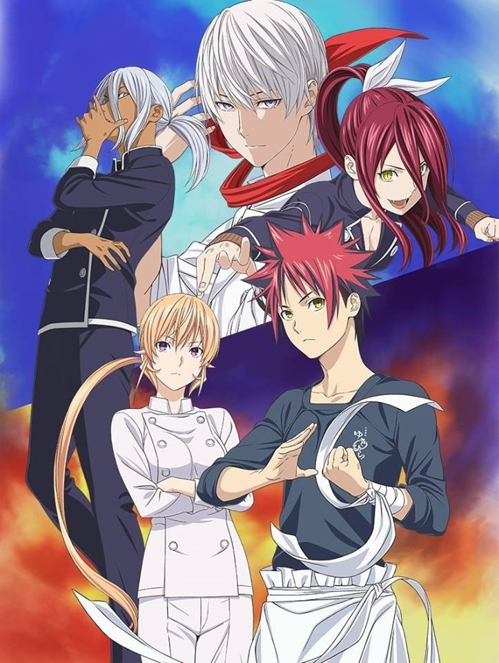 Food Wars: Shokugeki no Soma Season 3 2n...