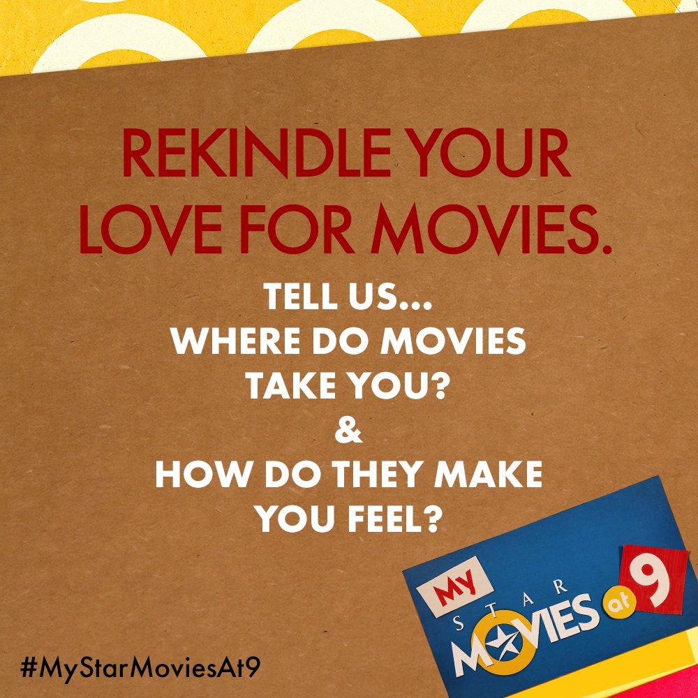 It's your time at 9! Send us your captions, quotes or entries with the #MyStarMoviesAt9.