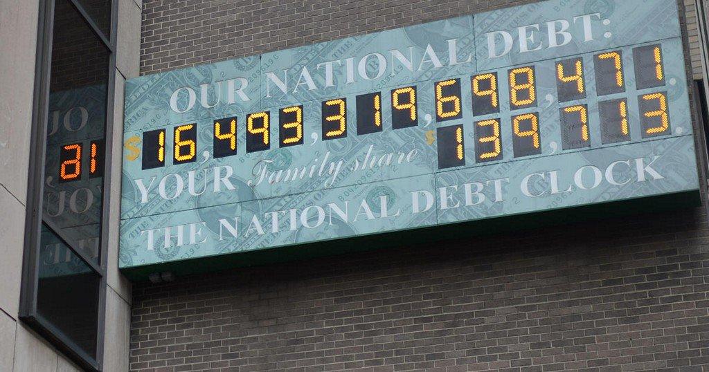 Under President Trump's watch, national debt tops $21 trillion for first time ever https://t.co/nDccu2k5Zi https://t.co/9OdD7AxJ2N