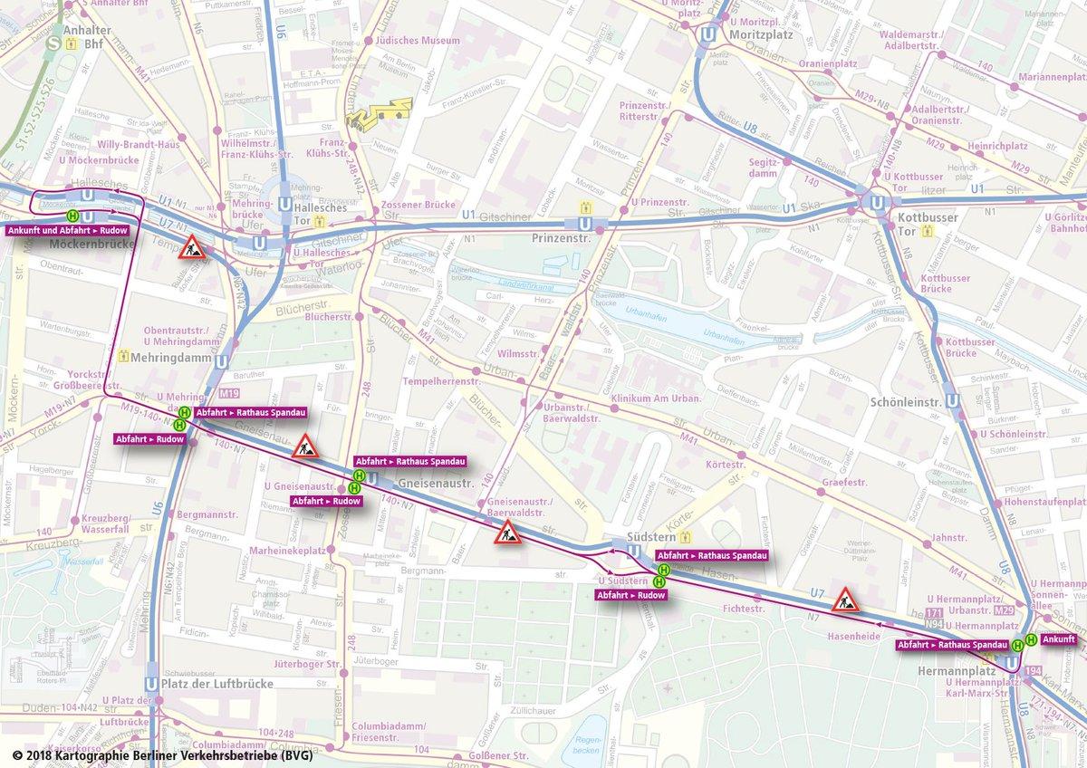 Bvg U Bahn On Twitter Weil Eine Verlängerung Den Fahrplan