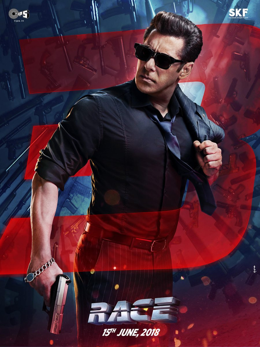 Sikander aka the one and only @BeingSalmanKhan is heating up our timelines with this poster from #Race3.  #Race3ThisEidT@SKFilmsOfficialh@AnilKapoori@Asli_Jacquelines@remodsouzaE@ShahDaisy25i@thedeold