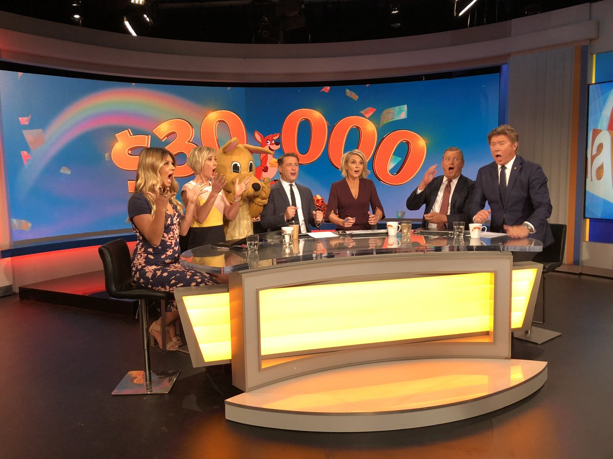 How would you like to wake up a winner? We've got $10,000 up for grabs on the show tomorrow. Make sure you've entered, details here: https://t.co/UJE7DYcGYv #9Today