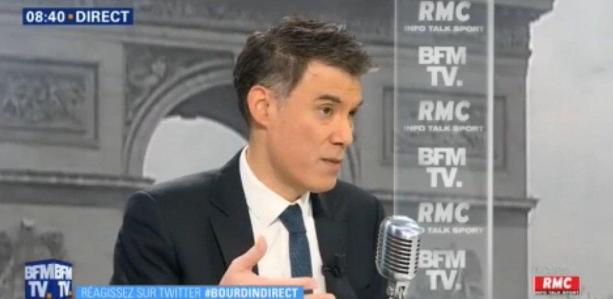 'Les privilèges pour Emmanuel Macron, c'est le petit cheminot à 1500 euros, c'est le retraité à 1200 euros, c'est le fonctionnaire, parce qu'il a la garantie de l'emploi, c'est toujours le petit '   @faureolivier➡ , 1er secrétaire du P #BourdinDirectS