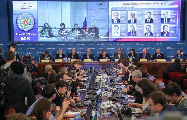 Voter turnout for Russian presidential #election exceeds 67% https://t.co/FGz0frhwsB © Anton Novoderzhkin/TASS